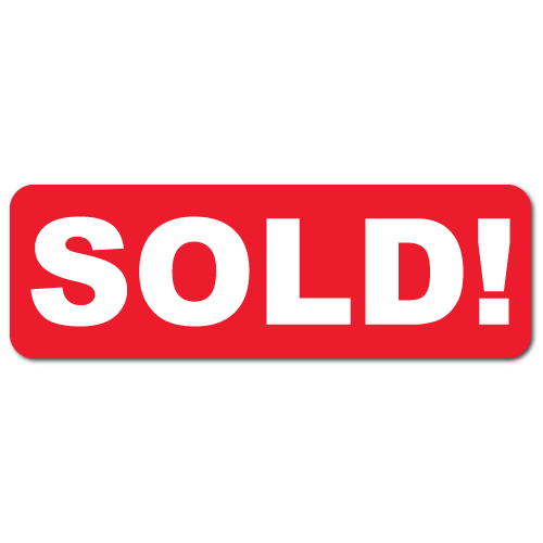 Sold sticker png. Stickers