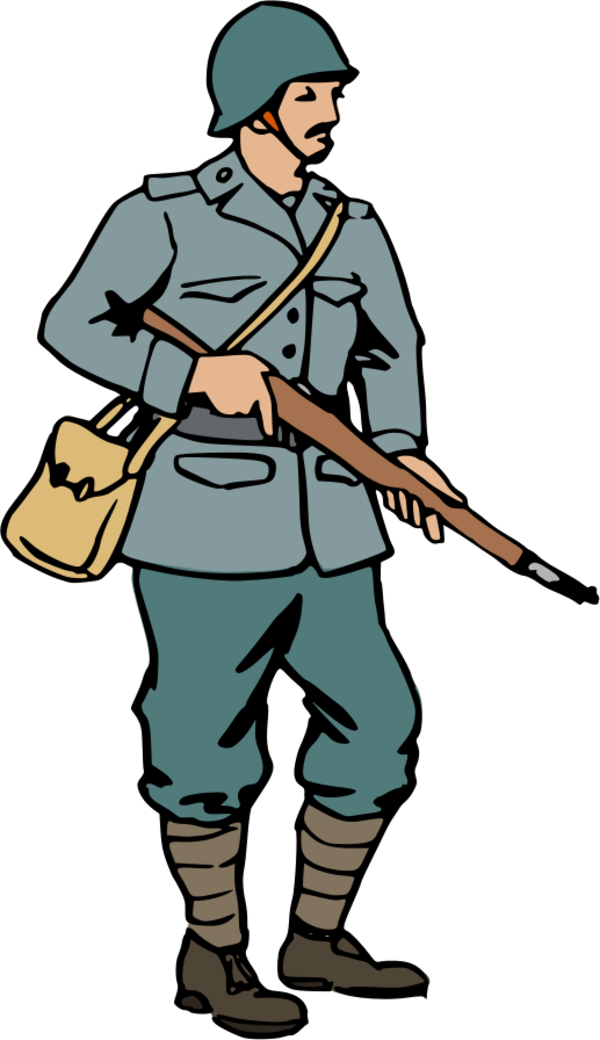 Soldier clipart. German at getdrawings com