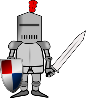 Soldier clipart comic. Knight or panda free