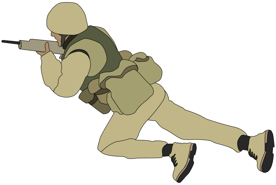 Soldiers vector animated. Free soldier pictures download