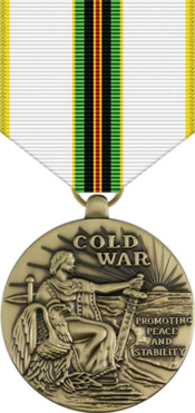 Soldier clipart serviceman. Cold war victory medal