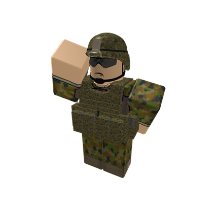 Transparent soldier roblox. Australian army salute