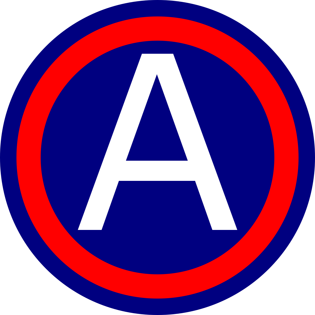 Military svg sign. United states army central
