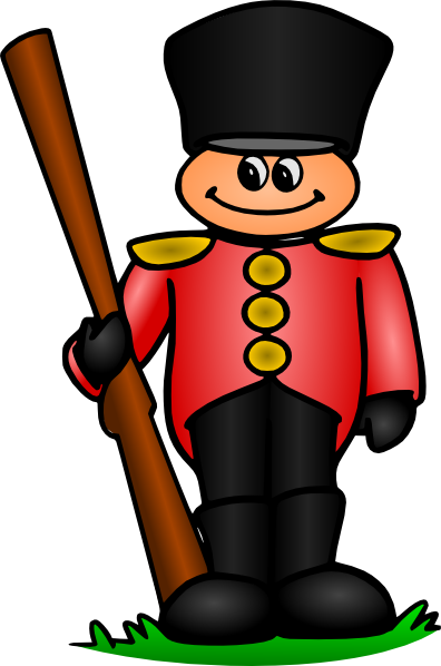 Soldiers clipart. Tin soldier clip art