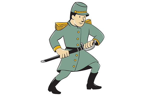 Soldiers clipart foji. Confederate army soldier drawing