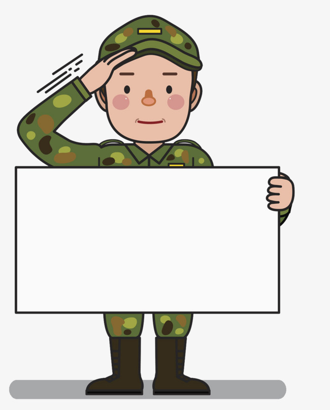 Soldiers clipart troop. Flat wind force ppt
