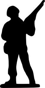 Soldier clipart soldier canadian. Soldiers cute borders vectors