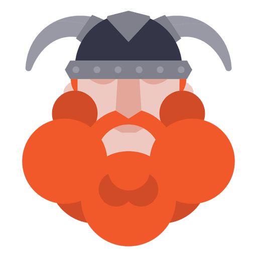 Vikings svg helmet. Flat viking soldier with