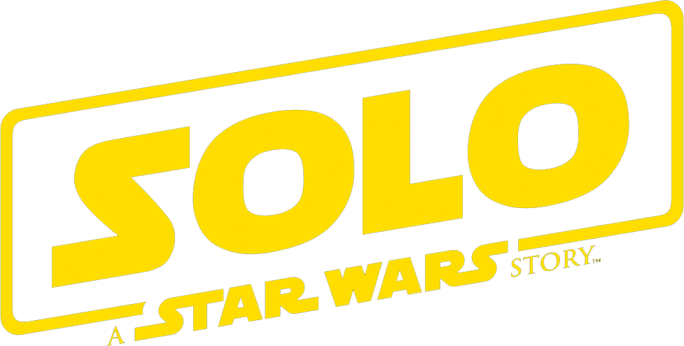Solo a star wars story logo png