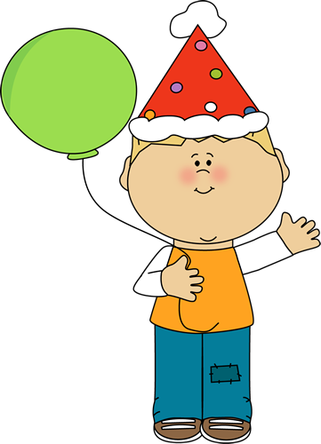 Excited clipart big kid. Birthday clip art images