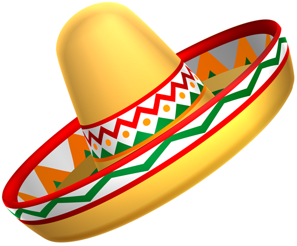 Mexican background png. Sombrero hat transparent clip