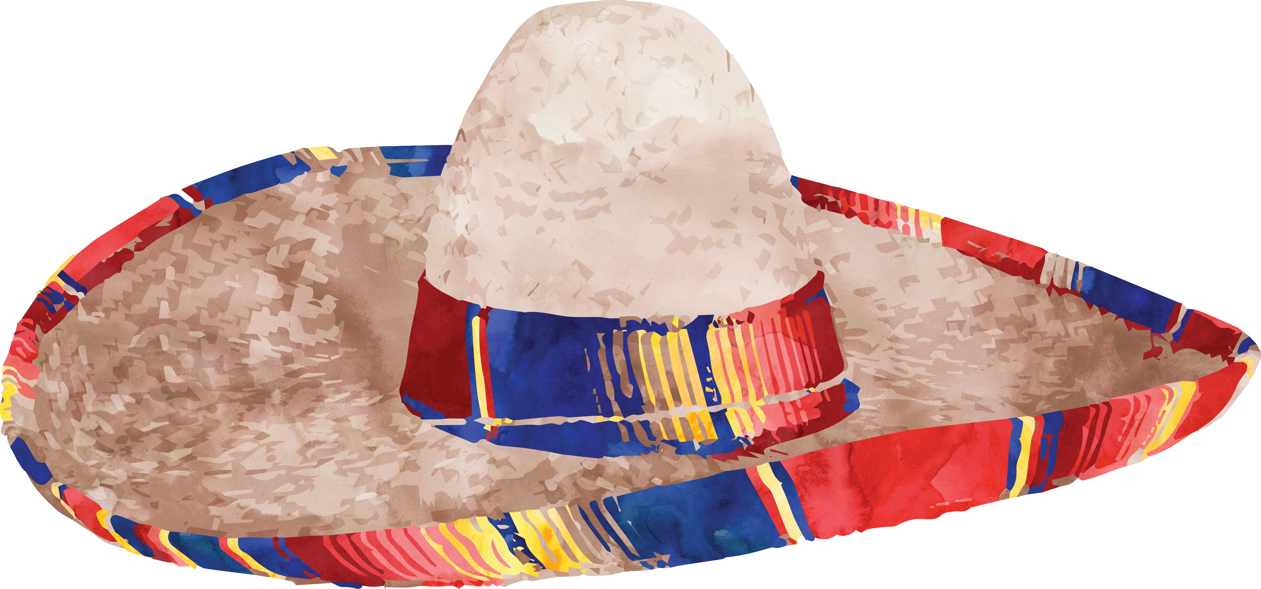 Mexican sombrero png. Mexico straw hat taobao