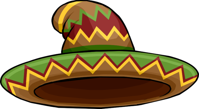 Sombrero png. Image puffle club penguin