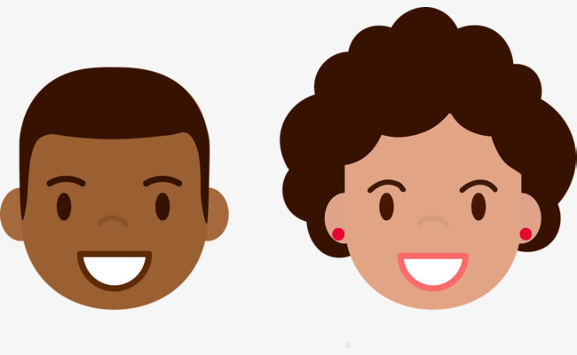 Happy mother and funny. Son clipart face to face black and white library