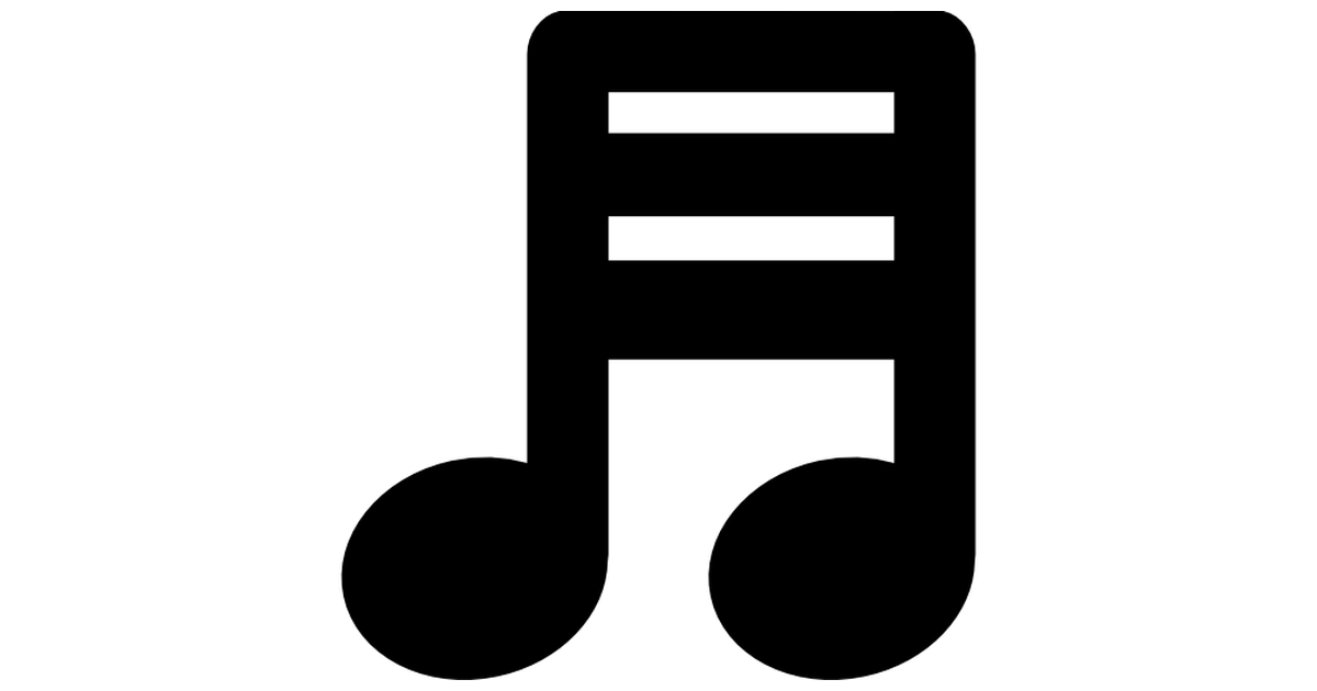 Song clipart music icon. Musical note with three