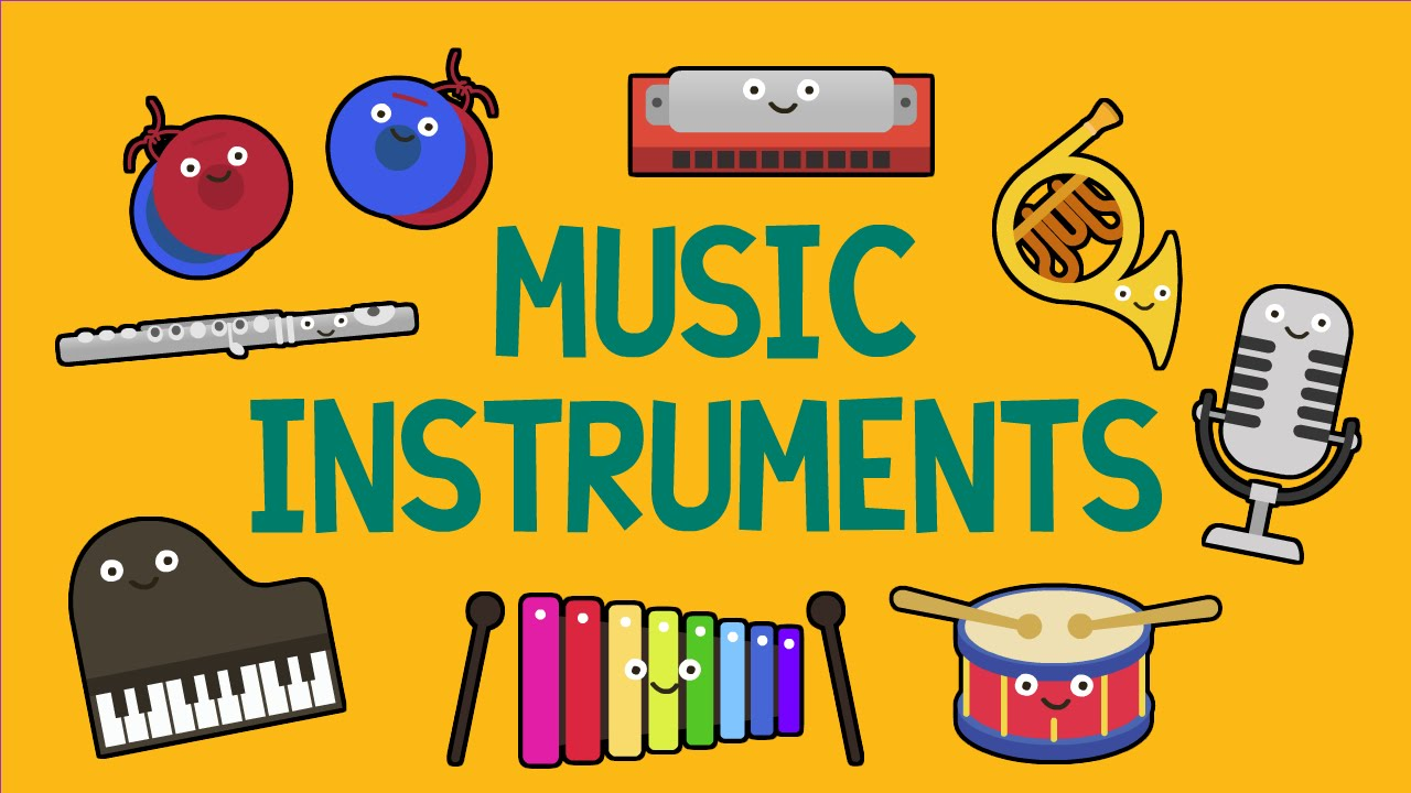 Song clipart triangle music. Instruments for children youtube