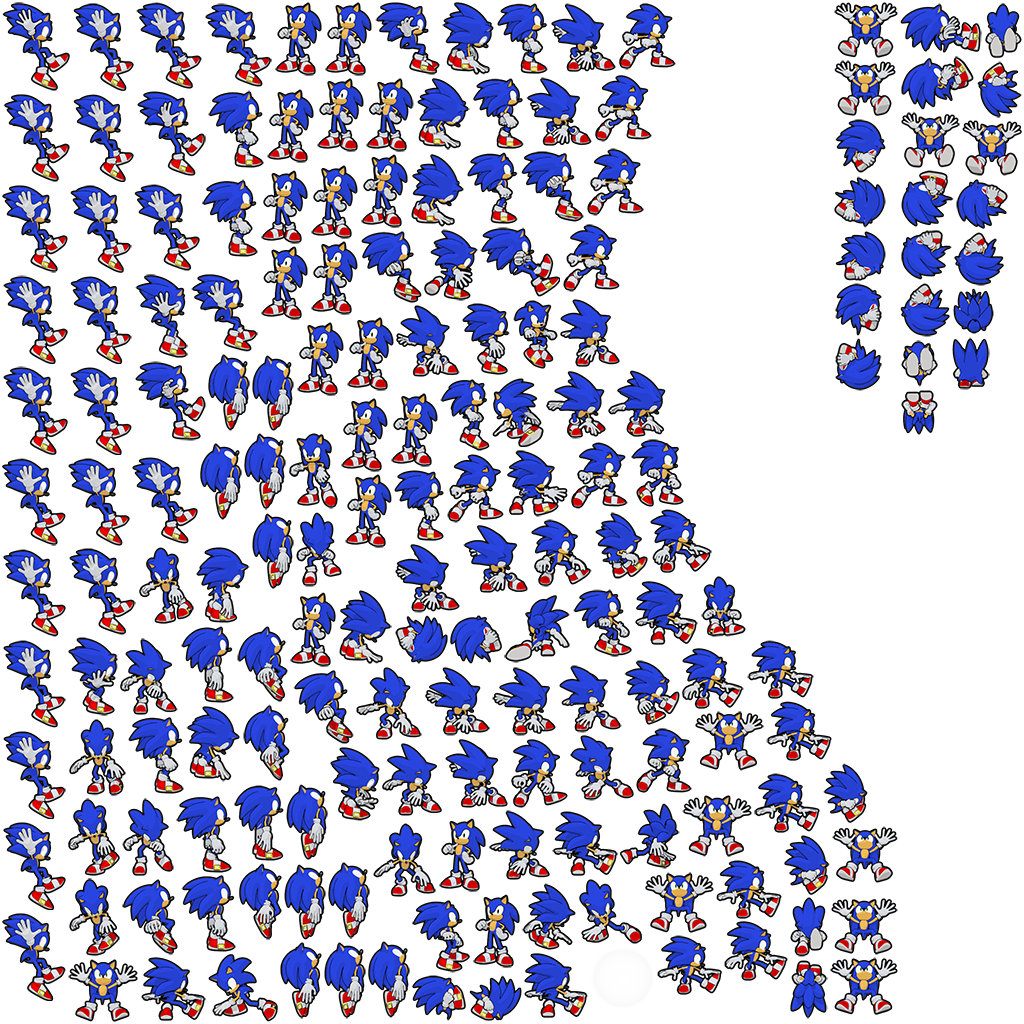 Sonic 1 sprite png. Image hdplayersonic news network