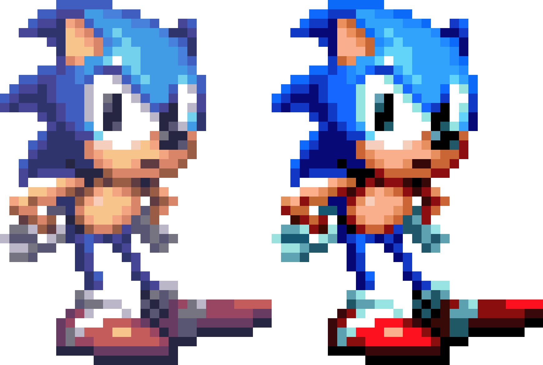 Sonic 1 sprite png. Something i wanted to