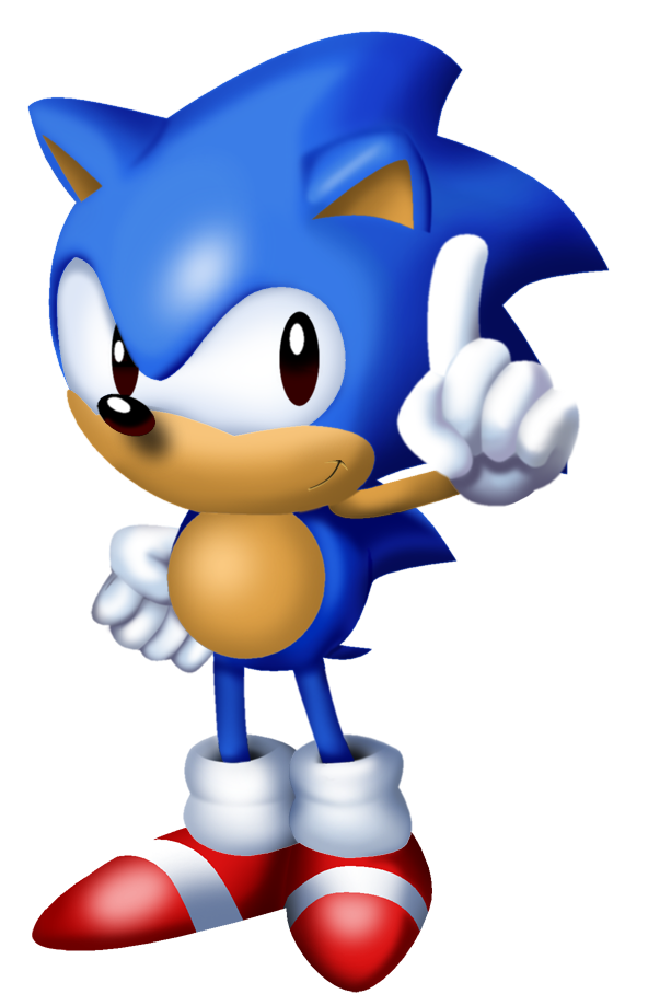 Sonic 3 png. From main menu by