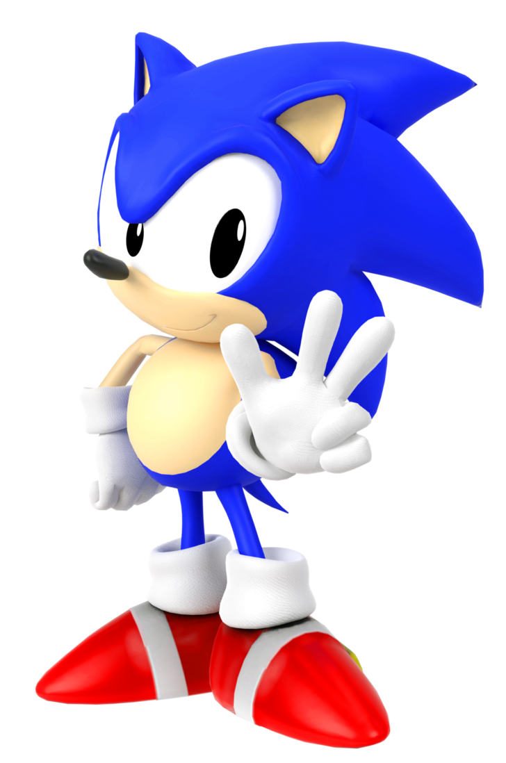 Sonic 3 png. Render by kamtheman on