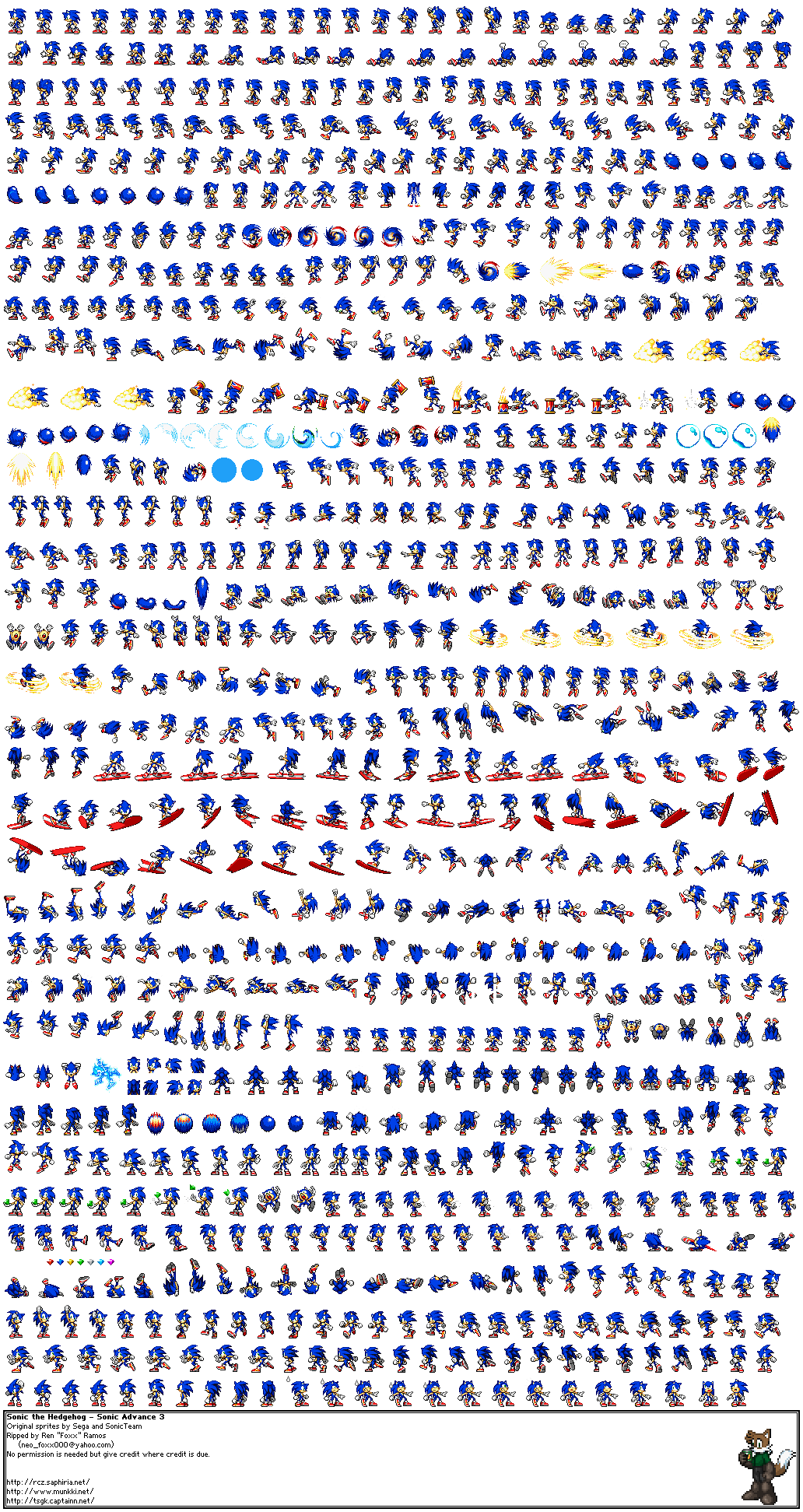 sonic the hedgehog objects sprite strip png