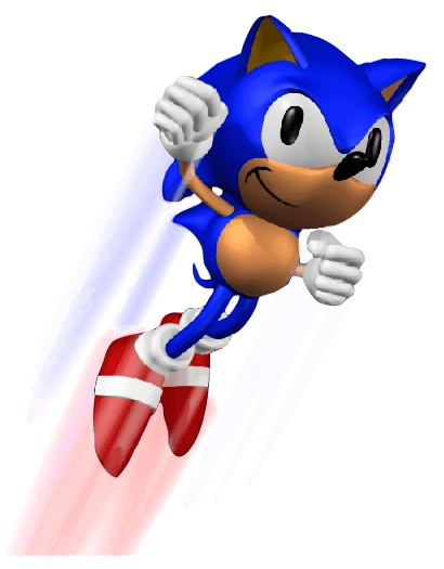 Sonic 3d blast png. Jumping from the official