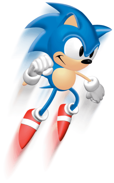 Sonic 3d blast png. Jumping alternate art style