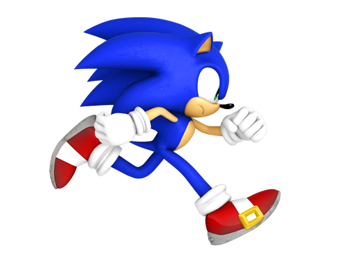 Sonic 4 episode 1 png. The hedgehog run