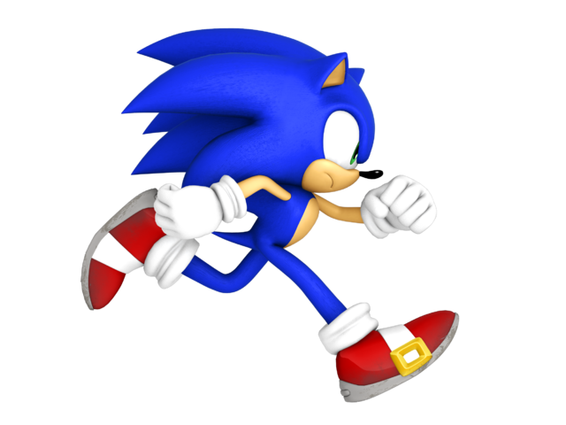 Sonic running png. Image episode i life