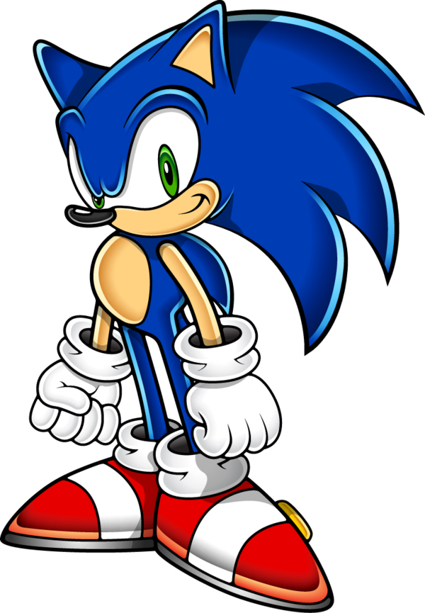 Sonic adventure png. The hedgehog art style