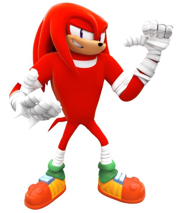 Sonic boom knuckles png. New render by nibroc