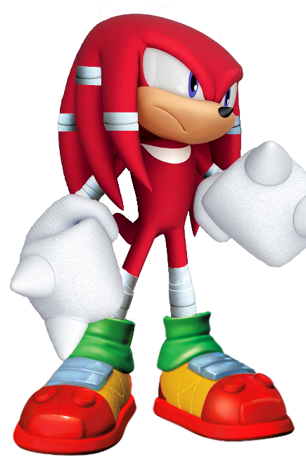 Sonic boom knuckles png. My style by silverdahedgehog
