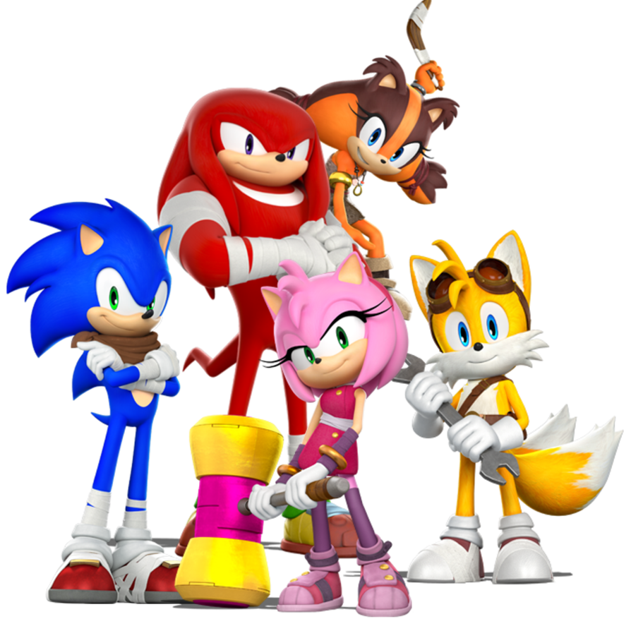 Sonic boom png. Sticks and amy by