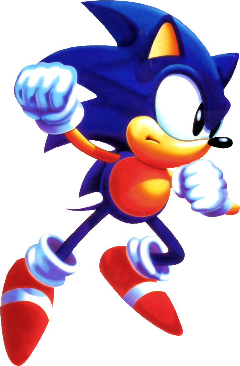 animate drawing sonic cd