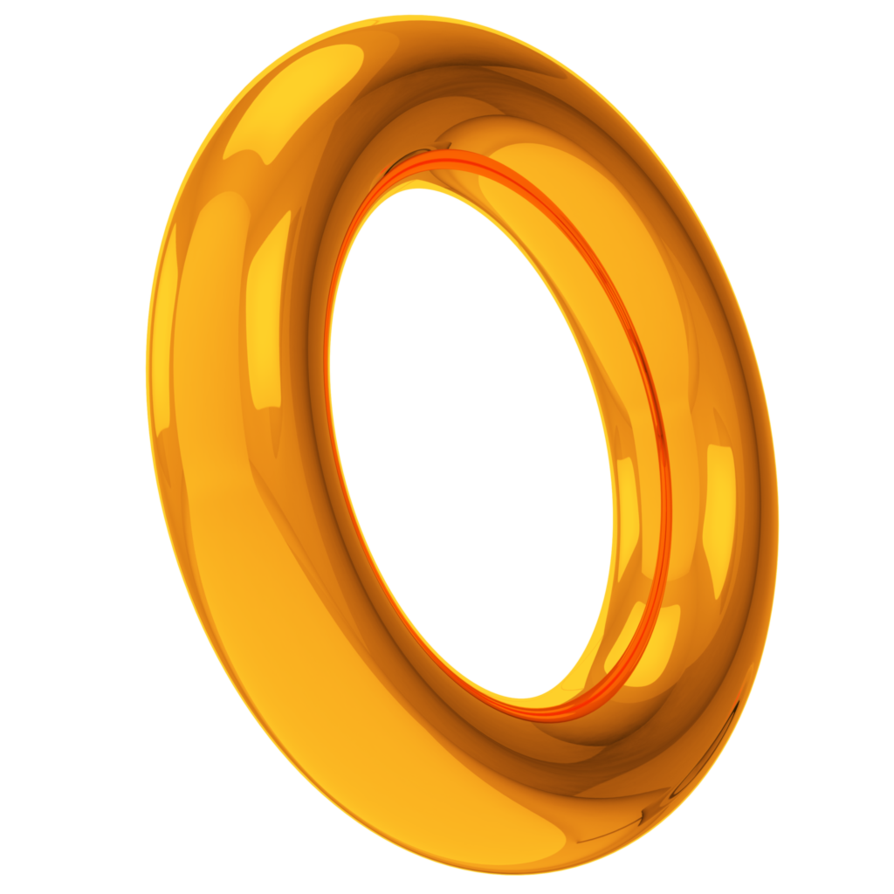 Sonic ring png. Gold rings