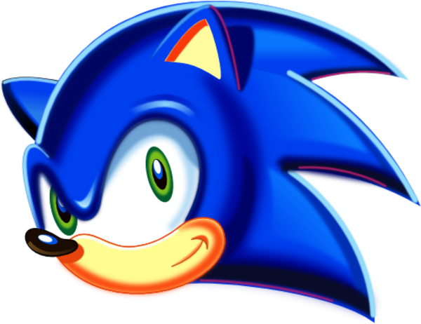 Sonic head png. Clip art free clipart