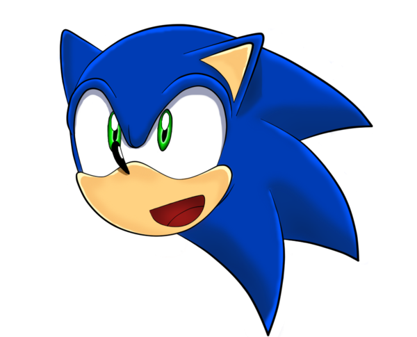 Sonic face png. S by unichrome uni