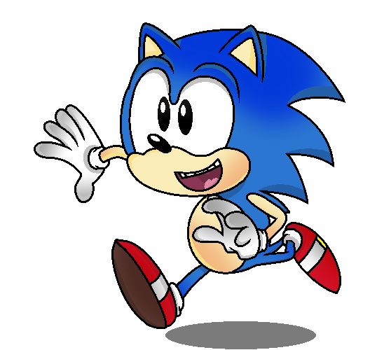 sonic fan art png