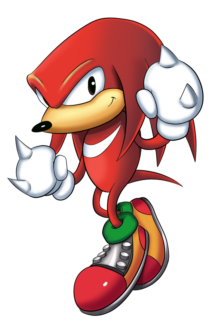 Sonic mania knuckles png. By jamoart on deviantart