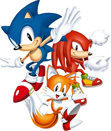 Sonic mania png. Image trio news network