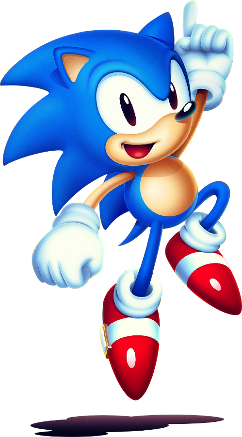 Sonic mania png. Image new blue with