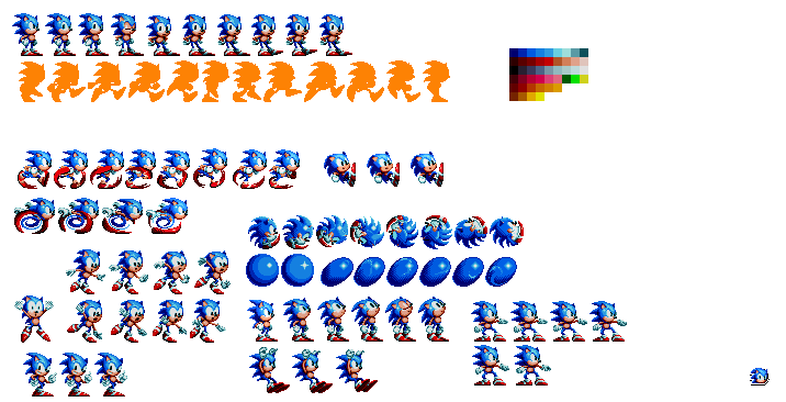 Sonic mania sonic sprite png. Sprites retired by alex