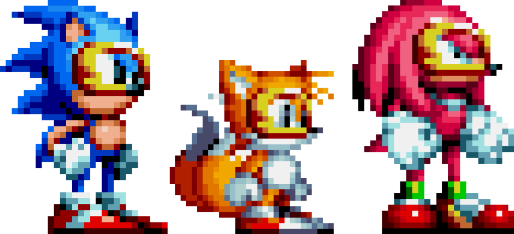 Sonic mania sonic sprite png. If goggles can be