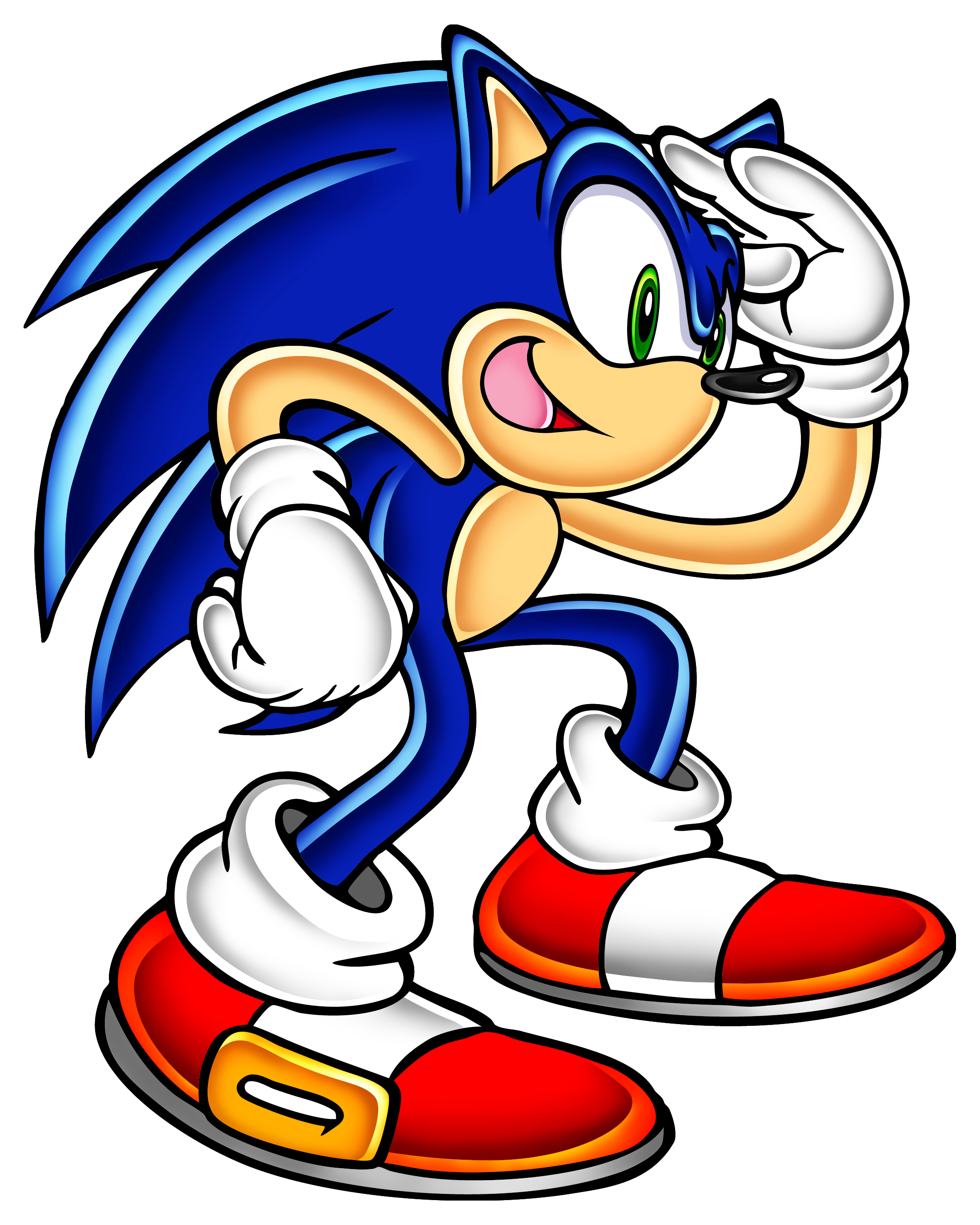 Image sa news network. Sonic png picture black and white