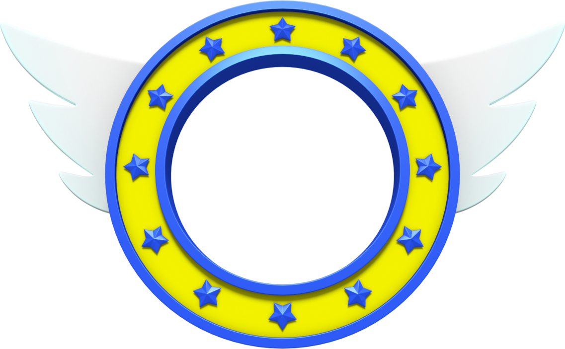 Sonic ring png. The hedgehog title by