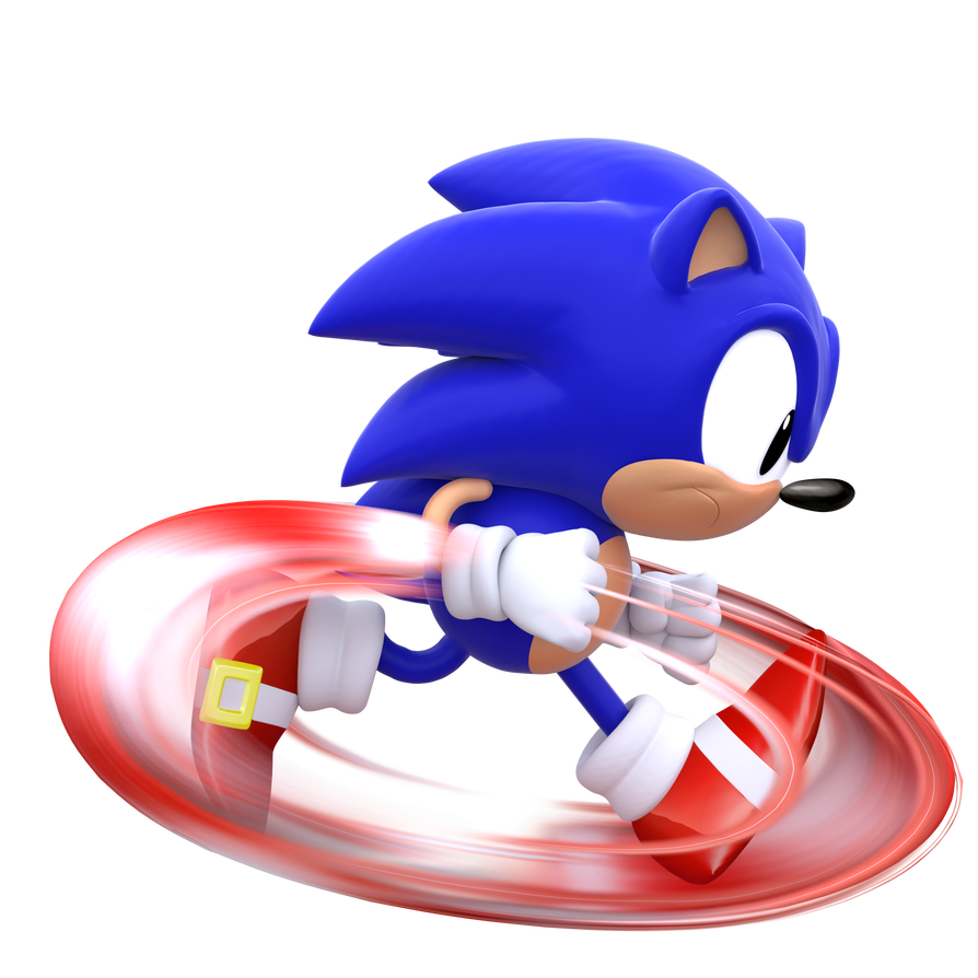 Sonic running png. Classic by modernlixes on