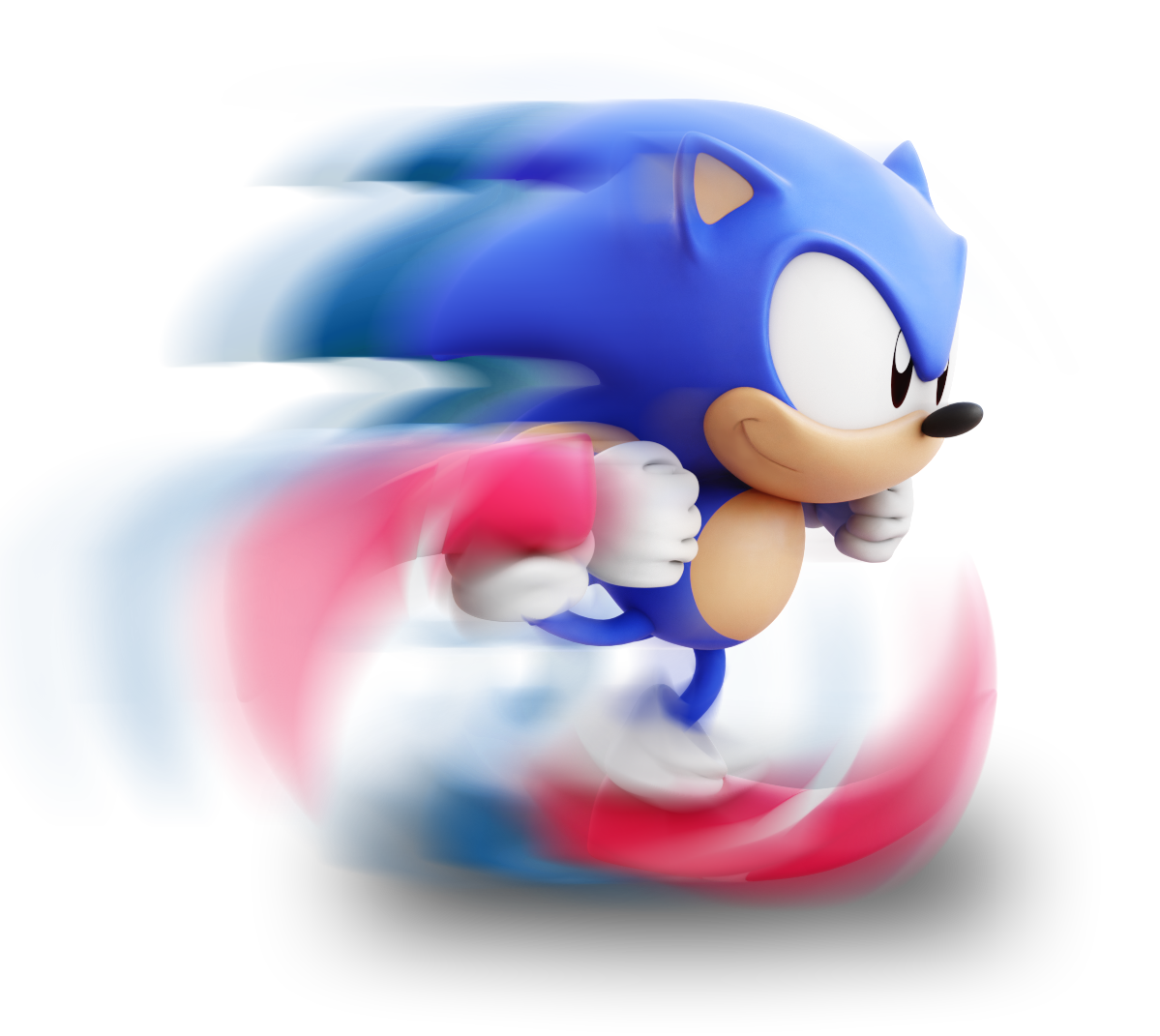 Sonic running png. Lixes on twitter i