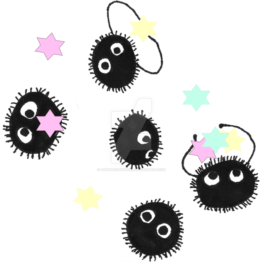 Soot sprite png. Sprites candy by amahakianangel