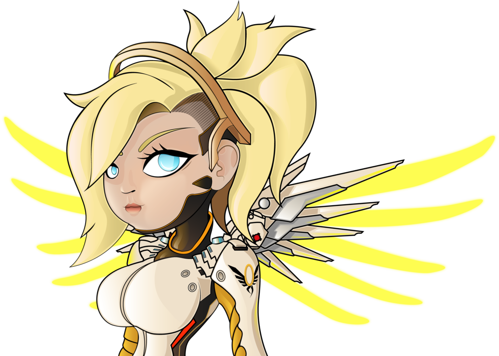 Soul transparent overwatch mercy. From by haruinkisitor on