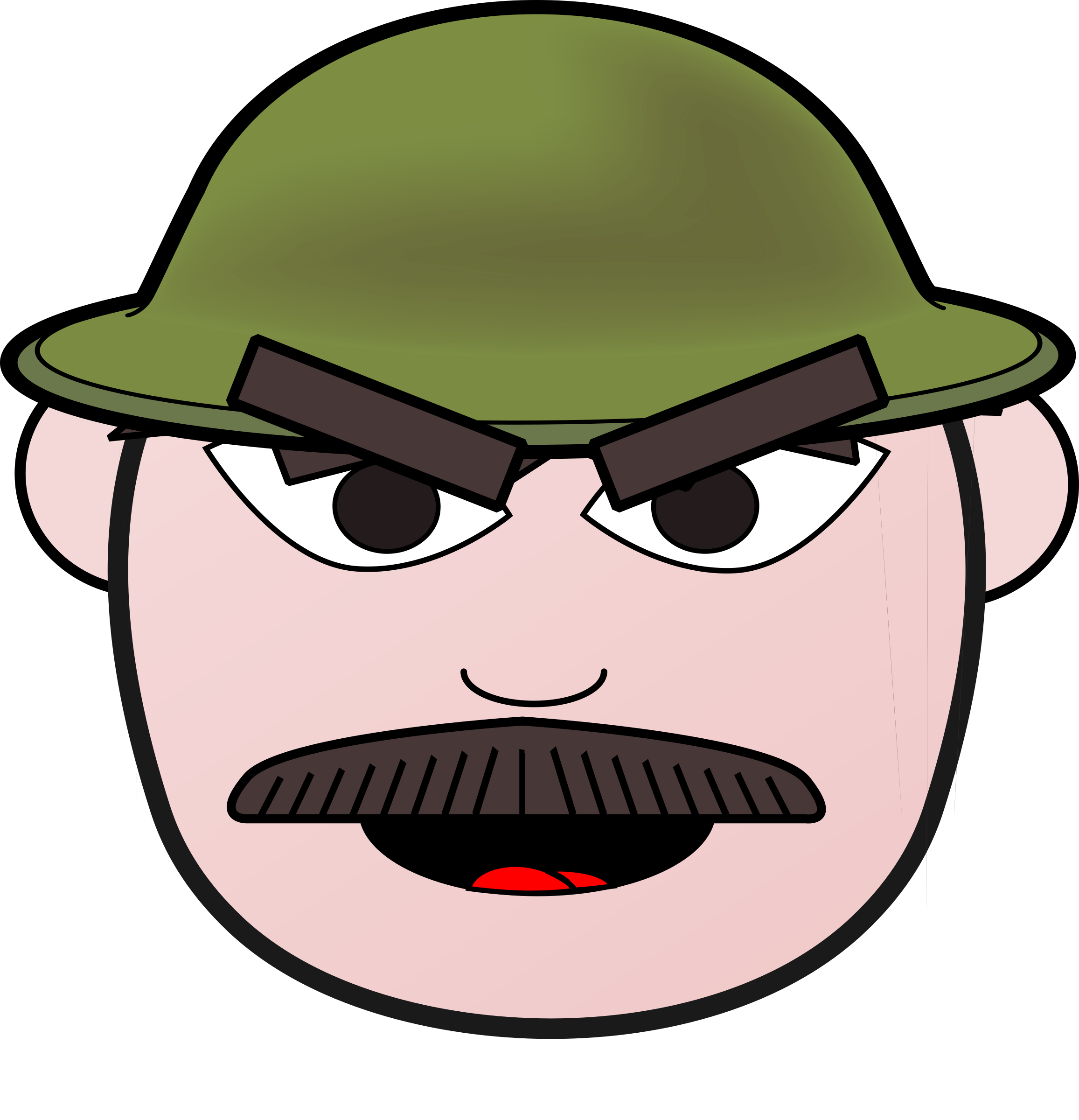Angry clipart angry man. Soldier icons png free